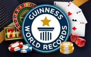 Рекорды азартных игр в Книге Гиннесса