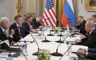 В Женеве начались переговоры между делегациями РФ и США в расширенном составе
