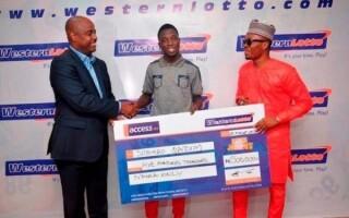 Нигерийская лотерея Western Lotto разыграла свой первый джекпот