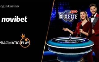 Новое партнерство Pragmatic Play: live-казино под брендом Novibet