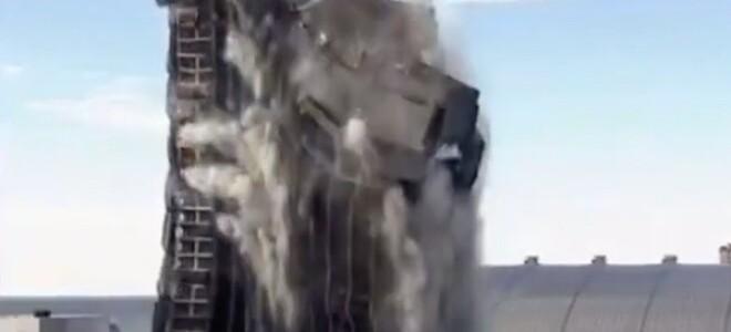 В США снесли бывший отель Трампа. Видео