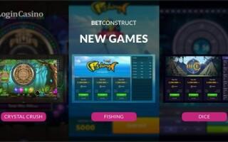 BetConstruct выпустила три новые игры на удачу