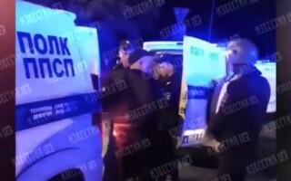 Опубликовано видео задержания стрелявшего в Екатеринбурге