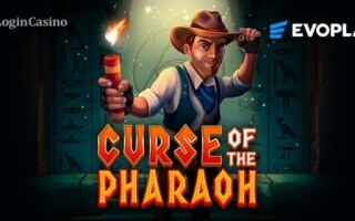 Поиск сокровищ в золотых песках Египта вместе с новым слотом Curse of Pharaoh от Evoplay